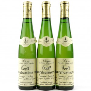 Dopff Gewurztraminer Vendanges Tardives 1989 Alsace 3x37.5cl