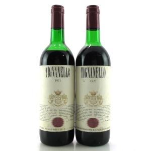 Tignanello 1971 Tuscany 2x70cl