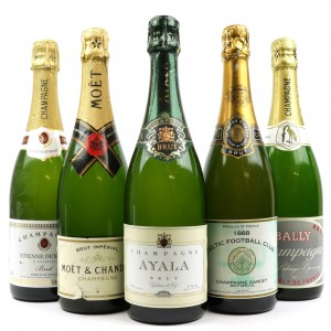 Assorted Brut NV Champagne 5x75cl