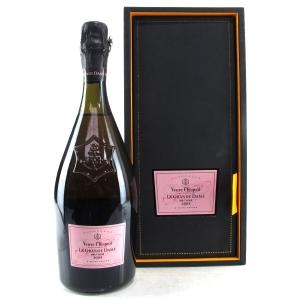 """Veuve Clicquot Ponsardin """"La Grande Dame"""" Rose 2004 Vintage Champagne"""