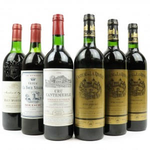 Assorted 1990s Bordeaux Red Wines 6x75cl