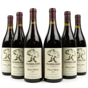 Talinda Oaks Pinot Noir 1997 Santa Ynez 6x75cl
