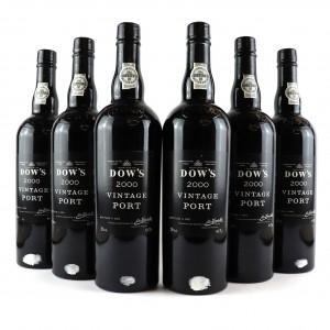 Dow's 2000 Vintage Port 6x75cl