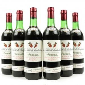 Fassati 1971 Vino Nobile Di Montepulciano 6x75cl