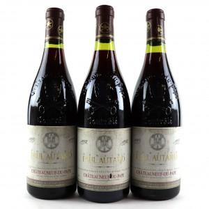 Dom. P.Autard 1992 & 1993 Chateauneuf-Du-Pape 3x75cl