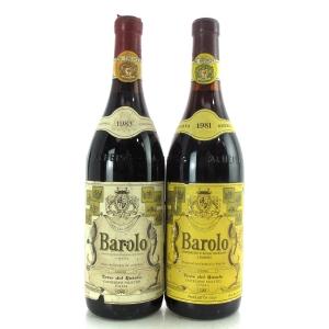 Cantina Terre Del Barolo 1981 & 1983 Barolo 2x75cl