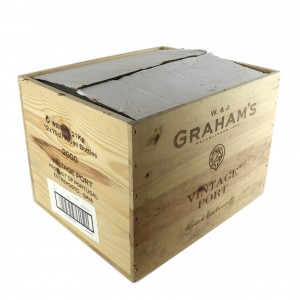Grahams 2000 Vintage Port 10x75cl / Original Wooden Case