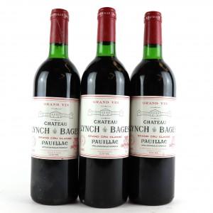 Ch. Lynch-Bages 1985 Pauillac 5eme-Cru 3x75cl