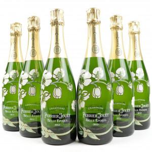 Perrier-Jouet Belle Epoque 2012 Vintage Champagne 6x75cl