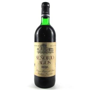 Señorio Agos 1980 Rioja Reserva