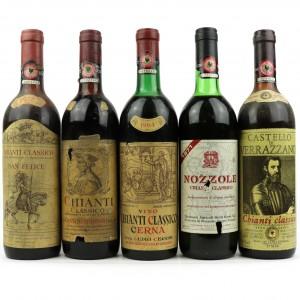 Assorted Chianti Classico / 5 Bottles