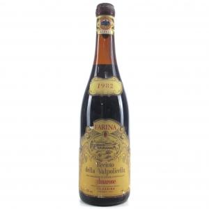 Farina Recioto Della Valpolicella 1982 Amarone