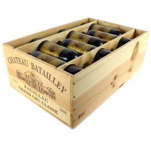 Ch. Batailley 2006 Pauillac 5eme-Cru 12x75cl / Original Wooden Case