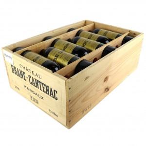 Ch. Brane-Cantenac 2006 Margaux 2eme-Cru 12x75cl / Original Wooden Case