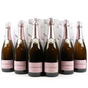 Louis Roederer Rose 2014 Vintage Champagne 6x75cl