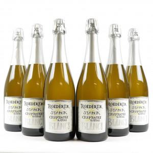 L.Roederer & P.Starck Brut Nature 2012 Vintage Champagne 6x75cl
