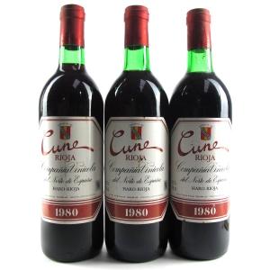CVNE Cune 1980 Rioja Crianza 3x75cl