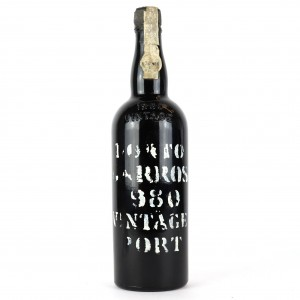 Barros 1980 Vintage Port