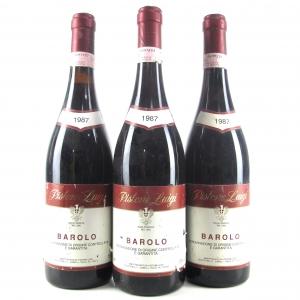 Pistone Luigi 1987 Barolo 3x75cl