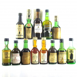 Assorted Port & Sherry Miniatures 13x5cl