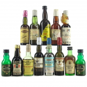 Assorted Sherry Miniatures 13x5cl