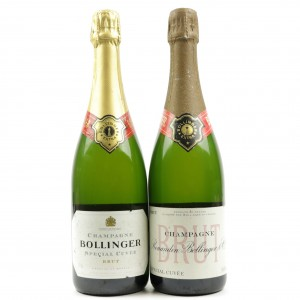 Bollinger Special Cuvee Brut NV Champagne 2x75cl / From 100th Anniversary Set