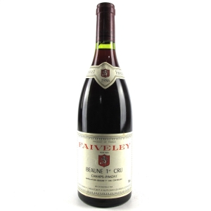 Faiveley 1986 Beaune 1er Cru