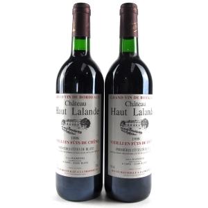Ch. Haut Lalande 1998 Côtes De Blaye 2x75cl