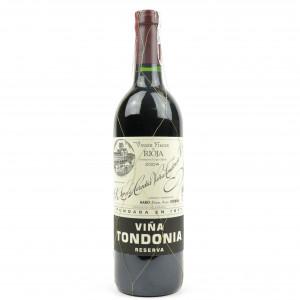 Vina Tondonia 2004 Rioja Reserva