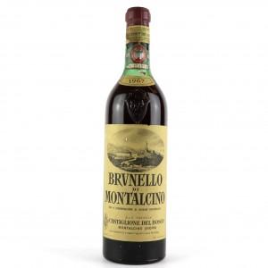 Castiglione Del Bosco 1967 Brunello di Montalcino