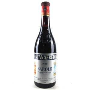 Fontanafredda 1980 Barolo