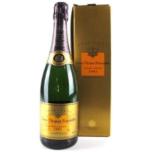 Veuve Clicquot Ponsardin 1995 Vintage Champagne