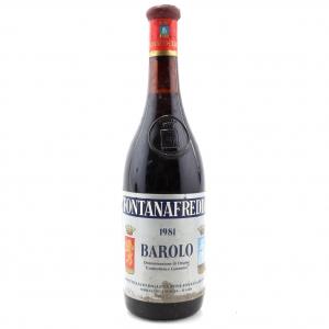 Fontanafredda 1981 Barolo