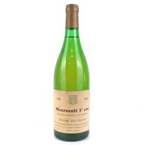 Selection Jean Germain 1982 Meursault 1er Cru