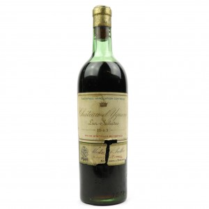 Ch. d'Yquem 1943 Sauternes 1er-Cru-Superior