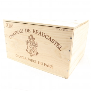 Ch. De Beaucastel 2005 Chateauneuf-Du-Pape 6x75cl / Original Wooden Case