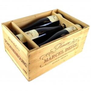 Deiss Schoenenbourg Vendanges Tardives Riesling 1997 Alsace Grand Cru 6x75cl / Original Wooden Case