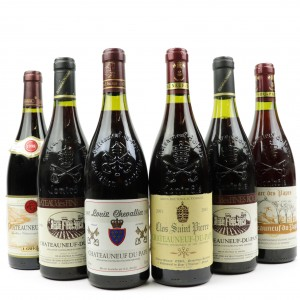 Assorted Chateauneuf-Du-Pape 6x75cl