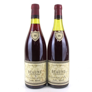 J.Belin 1982 Beaune 2x75cl