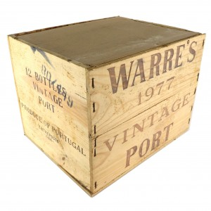 Warre's 1977 Vintage Port 12x75cl / Original Wooden Case