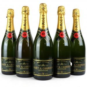 Moet & Chandon 1988 Vintage Champagne 5x75cl