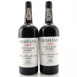 Graham's 1963 Vintage Port 2x75cl