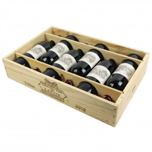 Ch. Lafite-Rothschild 2012 Pauillac 1er-Cru 6x75cl / Original Wooden Case