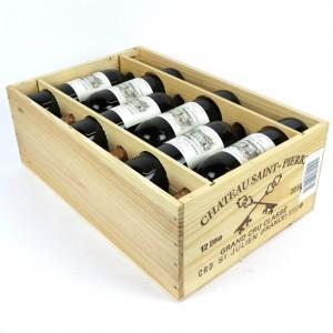 Ch. St-Pierre 2010 Saint-Julien 4eme-Cru 12x75cl / Original Wooden Case