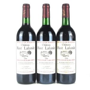 Ch. Haut Lalande 1998 Côtes De Blaye 3x75cl