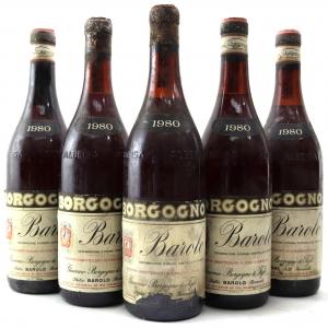 Borgogno 1980 Barolo 5x75cl
