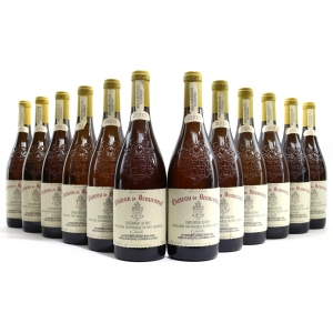 Ch. De Beaucastel 2003 Chateauneuf-Du-Pape Blanc 12x75cl