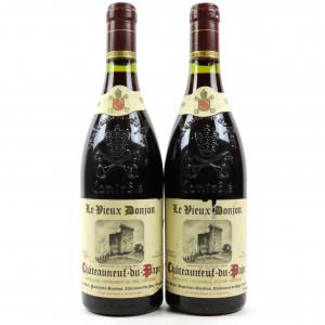 Le Vieux Donjon 1991 Chateauneuf-Du-Pape 2x75cl