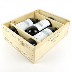 Ornellaia 2016 Tuscany Bianco 3x75cl / Original Wooden Case