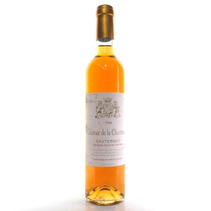 Ch. De La Chartreuse 1996 Sauternes 50cl